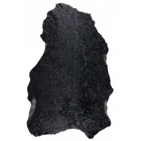 Mouton type astrakan noir