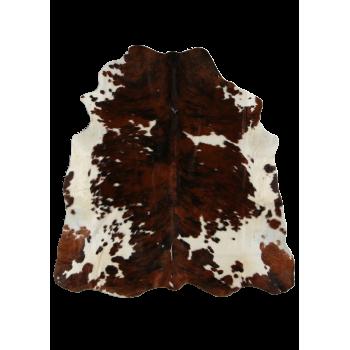 Tapis vachette normande à poils décoration