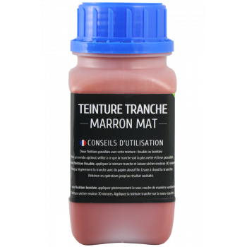 Teinture tranche 250 ml marron mat