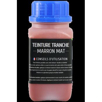 Teinture tranche 250 ml marron mat