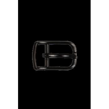 Boucle de ceinture V09 noir satiné