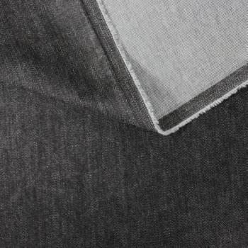 Tissu jean noir 120 cm