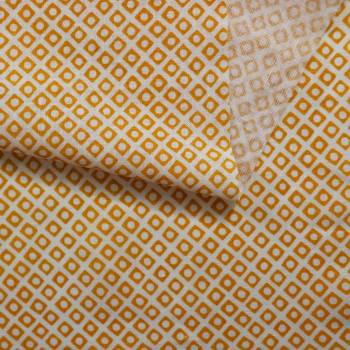 Tissu Palacio orange