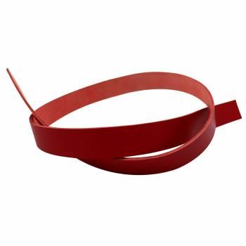 Lanière de croupon végétal rouge