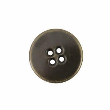 Bouton à coudre métallique