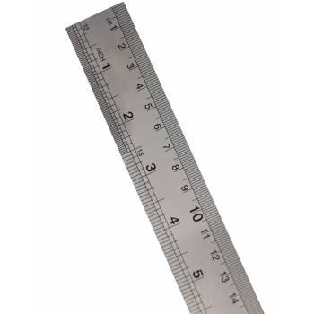 Réglet en inox 1 mètre