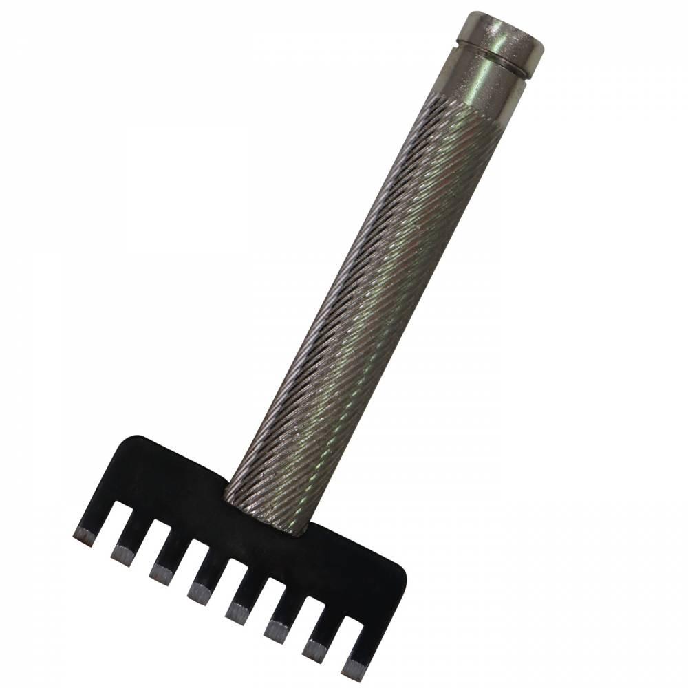 Griffe à frapper de laçage 8 dents 3,2 mm