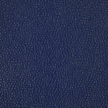 Veau caviar bleu roi brillant