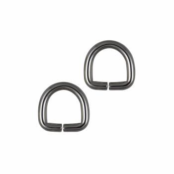 Demi anneau 15 mm Argent
