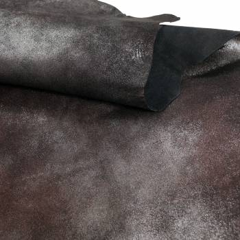 Chèvre fantaisie métal rouillé
