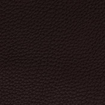 Chutes de cuir de Taurillon grainé chocolat