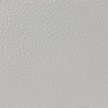 Chutes de cuir de Taurillon grainé blanc