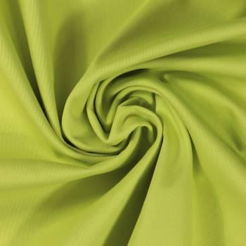Tissu coton vert anis
