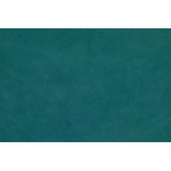 Veau velours Romano bleu turquoise