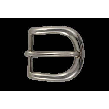 Boucle de ceinture B04 30 mm Argent