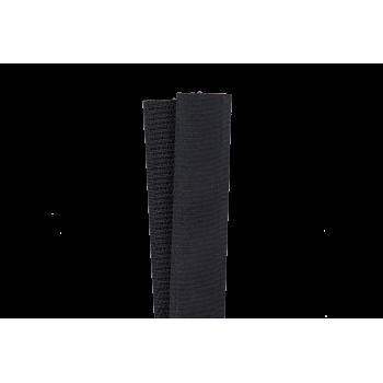 Ruban auto-agrippant 20 mm Noir