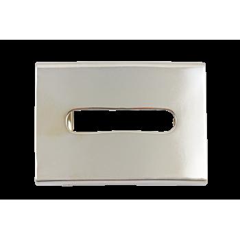 Boucle de ceinture B08 40 mm Argent