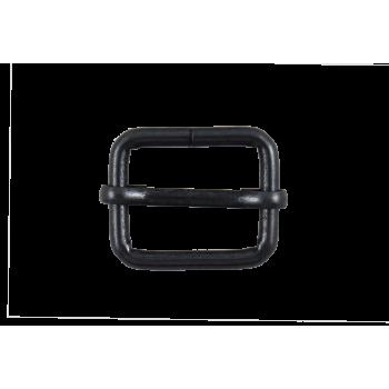 Boucle coulissante mobile 25 mm Noir