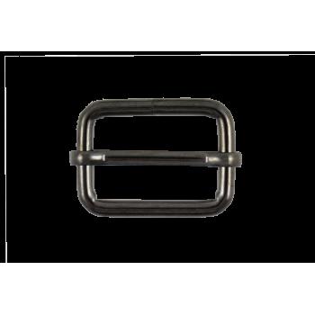 Boucle coulissante mobile 30 mm Noir