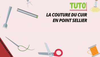 Tuto : La couture en point sellier